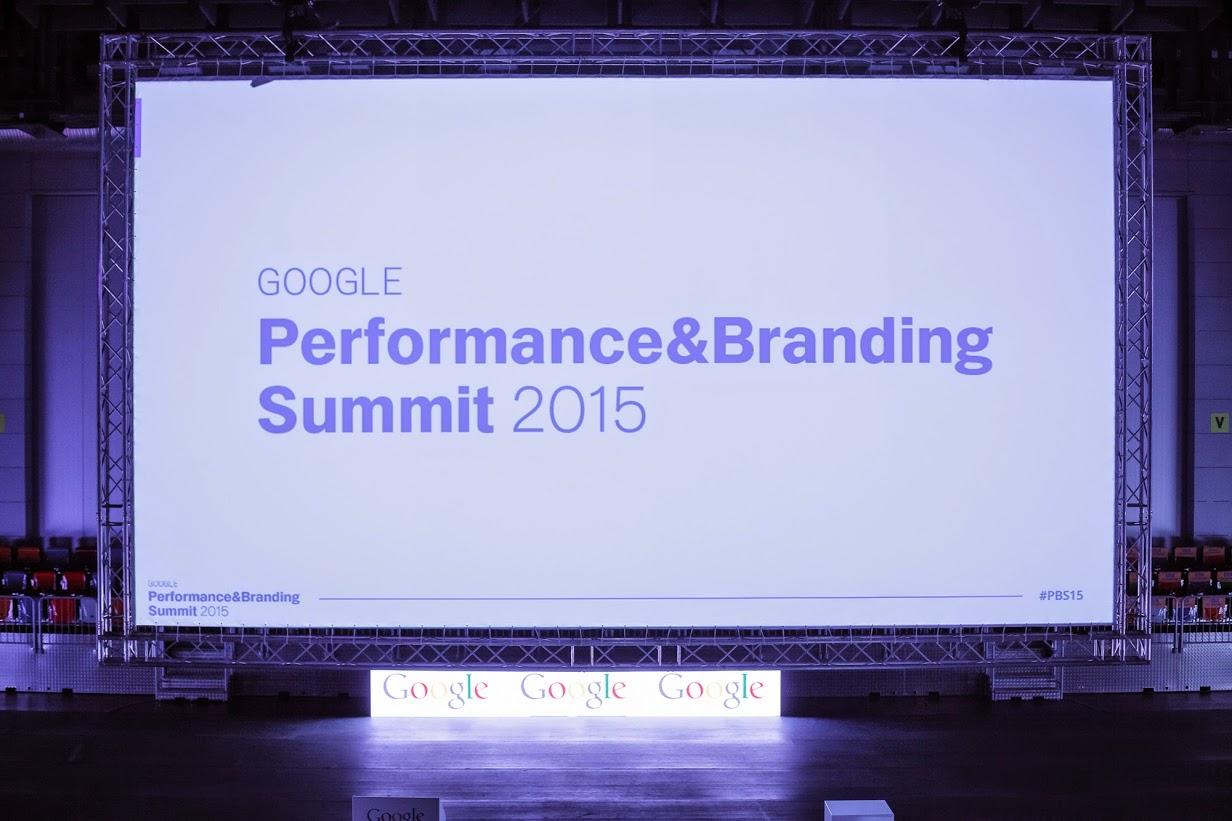 Pohled na pódium GPBS 2015