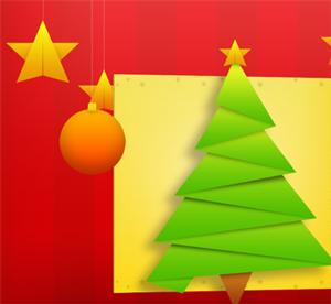 otevřít vánoční přání